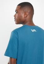 RVCA - Va Rvca blur short sleeve tee - blue