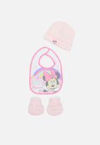 Character Group - Minnie Mouse newborn set - white & pink
