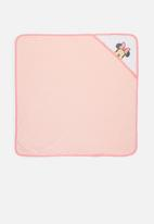 Character Group - Minnie Mouse hooded towel - pink
