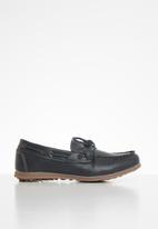 MINOTI - Boys driving shoe - navy