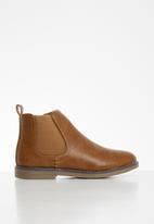 MINOTI - Boys chelsea boot - brown
