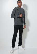 Superbalist - Friday high neck pullover sweat - charcoal
