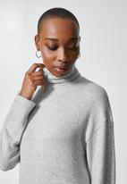 Superbalist - Dolman sleeve soft touch dress - grey
