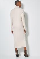 Superbalist - Dolman sleeve soft touch dress - beige