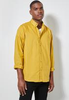 Superbalist - Barber regular fit oxford shirt - mustard