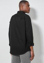 Superbalist - Barber regular fit oxford shirt - black