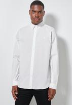 Superbalist - Barber regular fit oxford shirt - white