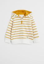 MANGO - Stripes sweatshirt - yellow