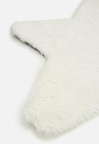 Fotakis - Star sheep rug - cream
