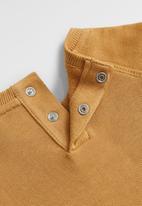 MANGO - Roar sweatshirt - medium brown