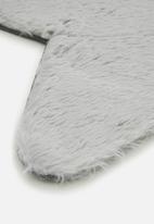 Fotakis - Star sheep rug - silver