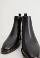 MANGO - Minute ankle boot - black