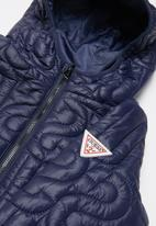 GUESS - Theremore nylon jacket - blue