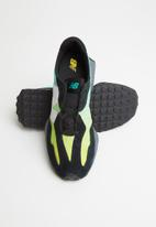 New Balance  - Kids 327 - black & green