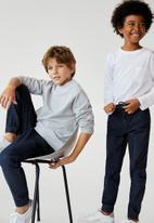 MANGO - Comfyg jeans - blue/black