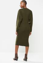 MANGO - Dress skins - khaki