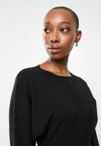 MANGO - Dress skins - black