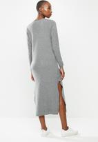 MANGO - Dress rolly - grey