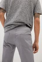MANGO - Pisa trousers - grey