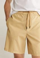 MANGO - Rafa bermuda shorts - yellow