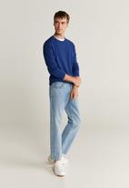 MANGO - Avena sweater - blue