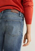 MANGO - Rock bermuda shorts - blue