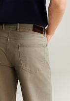 MANGO - Roller bermuda shorts - beige