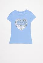 GUESS - Girls peyton tee - blue