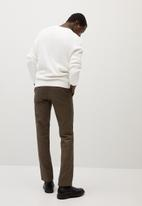MANGO - Rose sweater - white