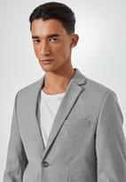 Superbalist - Regent slim fit blazer - grey