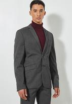 Superbalist - Regent slim fit blazer - grey