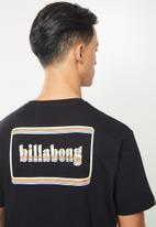 Billabong  - Technicolor tee - black
