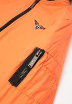 SOVIET - Bilbao boys fashion bomber jacket - orange