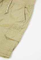 MINOTI - Boys basic poplin short - stone