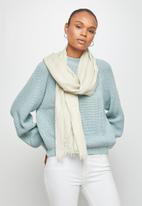 edit - Infinity light weight scarf - cream