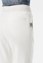 G-Star RAW - Premium core 3d tapered sw pant wmn -milk