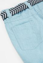 MINOTI - Oxford short - blue