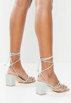 Z_Code_Z - Vitta strappy heel - mint
