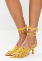 Z_Code_Z - Lada strappy heel - yellow