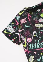 Nike - Nkg nsw drapey jersey dress - multi
