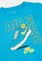 Nike - Nkb af1 connect the dots tee - blue