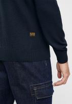 G-Star RAW - Classic sport r knit - blue