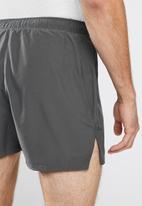 ASICS - Silver 5in short - dark grey