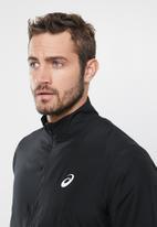 ASICS - Silver jacket - black