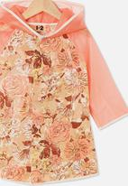 Cotton On - Cloudburst raincoat - pink