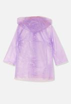 Cotton On - Cloudburst raincoat - purple