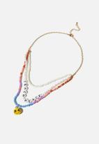 Cotton On - Kids fashion jewellery necklace - teach peace