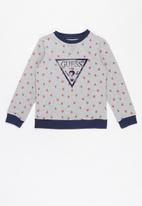 GUESS - Boys long sleeve active top - grey