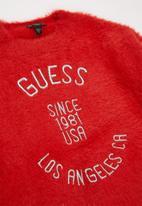 GUESS - Girls guess crewneck - red