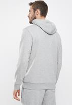 Converse - Star chevron french terry pullover hoodie - grey